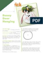 Bunny Door Hanging