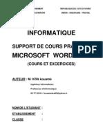 Cours Word 2007 Pour 2013 Nouveau