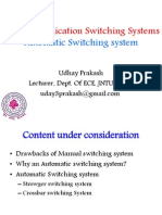 Telecommunication Switching Systems Part 02 Udhay Prakash Jntuh