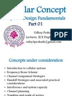 Cellular Concept- Part 01 Udhay Prakash Jntuh
