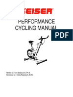 Keiser Performance Cycling Manual