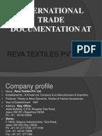 Garment Export Procedure