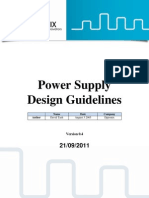Power Supply Design Guidelines v0.4