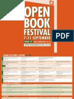 2013 Open Book Programme