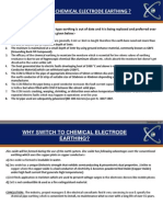 Chemical Earthing