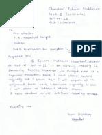 Application & Service Certificate