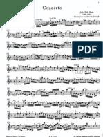 Bach - Double Violin Concerto Bwv 1043 - Violin I & 2