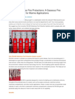 FM 200 Waterless Fire Protections