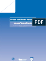 Health and Health Behaviour Among Young People