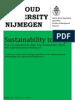 Msc. Gaston Plantaz - Sustainability to Stay