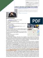 Gabriel Rolón analizó la estructura psicológica de la mentira