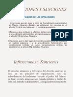 Infracciones y Sanciones.la