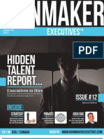 Rainmaker Executives Issue #12 - Talented People You Want Working for YOUR Company™