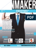 Rainmaker Executives Issue #15 - Talented People You Want Working for YOUR Company™