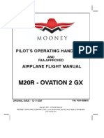 Mooney M20R Ovation 2 GX - Pilot's Operating Handbook and Airplane Flight Manual