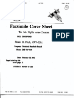 T7 B6 TSA Materials Re Joint Inquiry Fdr- 2-28-02 Fax From Fitch- Memos Re Review of Terrorist List 371