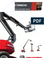 Manitou Diesel Aerial Work Platforms (IT)