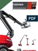 Manitou Diesel Aerial Work Platforms (DE)