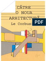 Le Corbusier-Catre o Noua Arhitectura