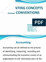 Accounting-Concepts & Convention