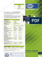 FGW P220HE2 Generator Specifications