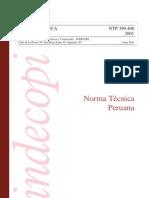 NTP 399.400.2001