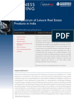 C&W The Spectrum of Leisure Real Estate Products in India