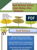 Konsep Budi Bahasa Dalam Masyarakat Melayu Malaysia