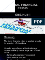 Global Financial Crisis by anil.j