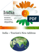 India Tourism New Destination