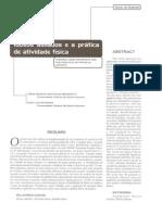 BENEDETTI, T. R. B.; PETROSKI, E. L. Idosos asilados e a prática de atividade física