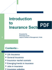 Introduction to Insurance Industry