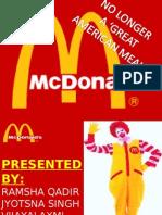 Mc. Donalds Downfall