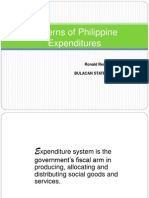 Philippine Expenditure Pattern