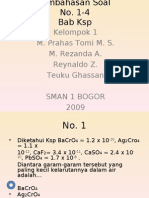 Ksp Kimia SMAN 1 BOGOR