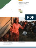 Patterns of Anti-Muslim Violence in Burma