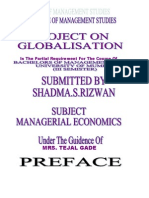 Globalisation Pro(ECONOMICS)