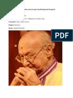 Eminent Indian classical singer Pandit Raghunath Panigrahi