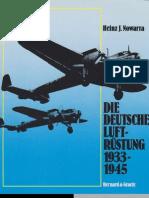 Die deutsche Luftrüstung 1933-1945, Band 1