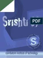 srishti 2009 - coimbatore institute of technology college magazine