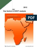Airtel in Africa Key Factors & SWOT Analysis 2012