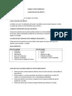 Crianza y Roles Parentales Ficha Informativa