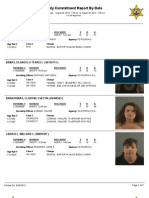 Peoria County booking sheet 08/26/13