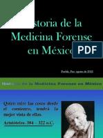 Historia De La Medicina Forense En México