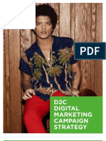 bruno mars digital marketing strategy