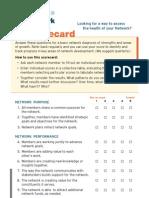 Network Health Scorecard