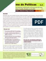 CANARI Informe de Políticas No. 15 - Uso de los conocimientos tradicionales en los procesos de toma de decisión sobre el cambio climático en el Caribe