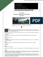 Das Erste Buch Poimandres (eBook - Zeitung - German - Deutsch)