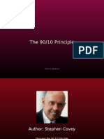 90-10 Principle Stephen Covey