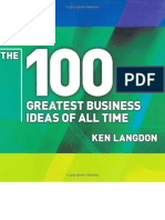 100 Greatest Business Ideas of All Time